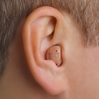 In the Canal Hearing Aid in Ear ITC